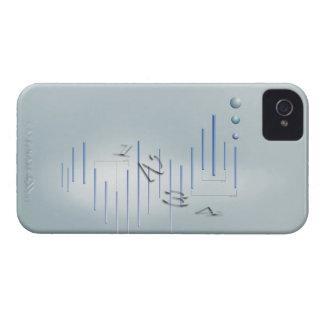 Formula, graph, math symbols 11 iPhone 4 cover