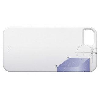 Formula, graph, math symbols 2 case for the iPhone 5