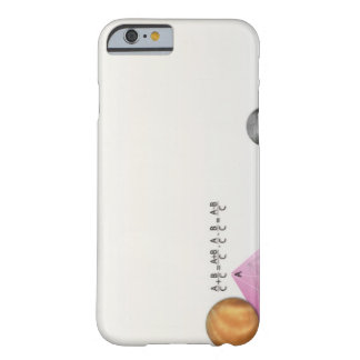 Formula, graph, math symbols 3 barely there iPhone 6 case
