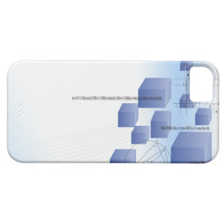 Formula, graph, math symbols 5 iPhone 5 case