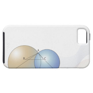 Formula, graph, math symbols 7 iPhone 5 cover