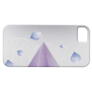 Formula, graph, math symbols 8 barely there iPhone 5 case