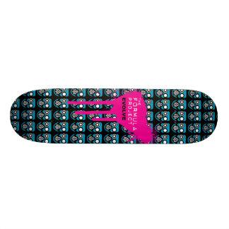 Formula Project gasmask skateboard