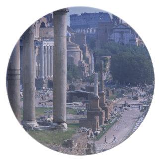 Foro Romano 2 Plate