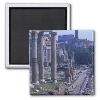 Foro Romano 2 Square Magnet