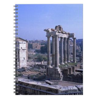 Foro Romano 3 Spiral Notebook