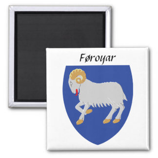 Føroyar - Faroe Islands Coat of Arms Magnet