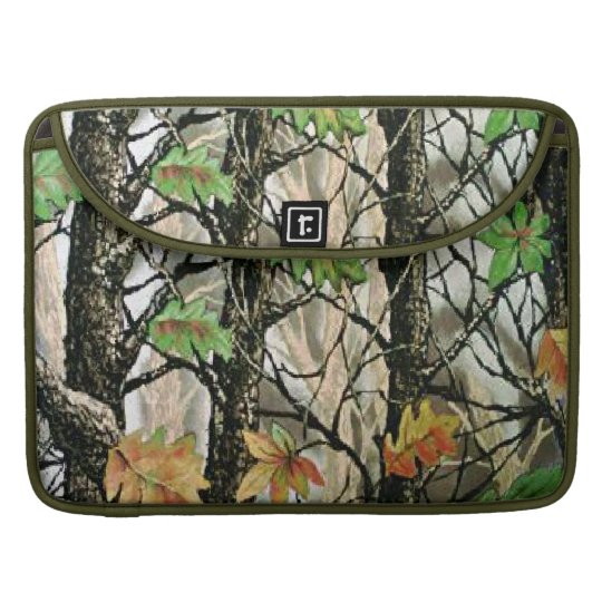 Forrest Camo Macbook Pro Laptop Case Sleeve