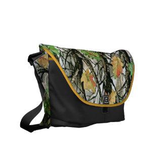 Forrest Camo Pattern Rickshaw Messenger Bag