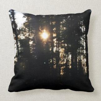 Forrest Cotton Throw Pillow 20x20