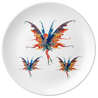 Forrest Fairy  Decorative Porcelain Plate