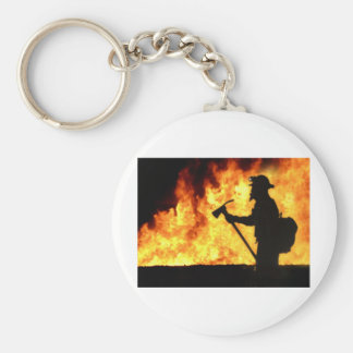 Forrest Fire Key Ring