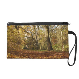 Forrest in the Autumn Wristlet Purse