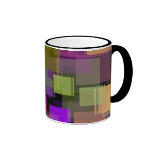Forrest of Squares Mug2 Coffee Mugs