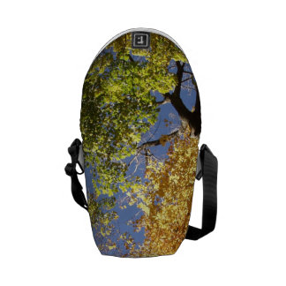 Forrest of Tall Trees Messenger Bags