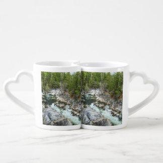 Forrest Vein Couple Mugs