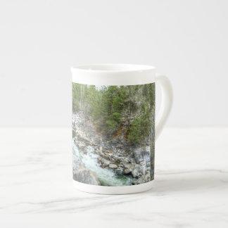 Forrest Vein Porcelain Mug