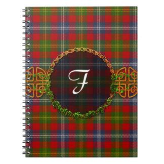 Forrester Tartan And Monogram Notebook