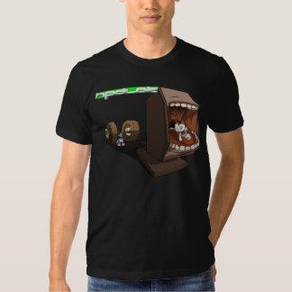 Forsaken Androids Black T Shirts