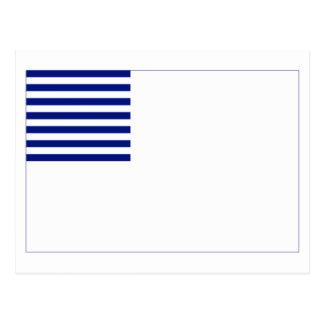 Forster Flag Post Card