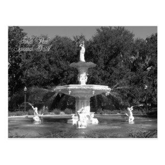 Forsyth Park Fountain Savannah, Georgia Postcard