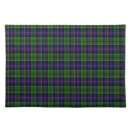 Forsyth Scottish Tartan Placemats