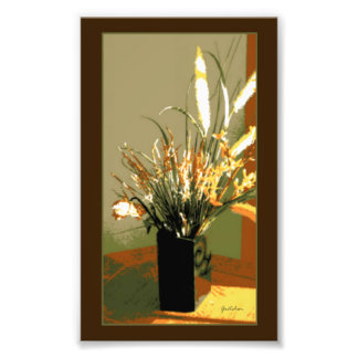 Forsythia Flower Bouquet Photo Print