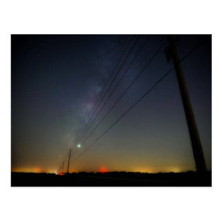 Fort Bend Milky Way Postcard