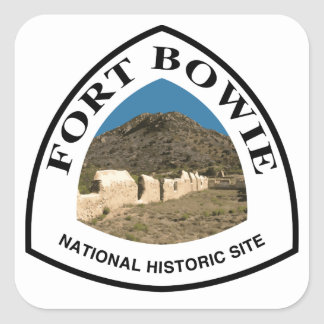 Fort Bowie National Historic Site Square Sticker