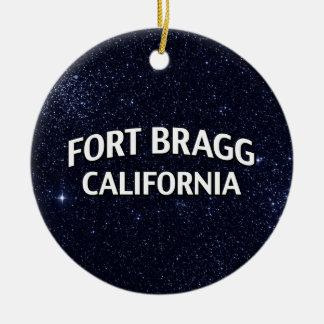 Fort Bragg California Christmas Ornament