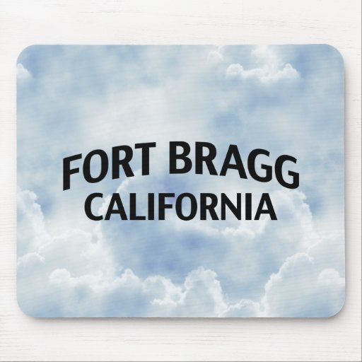 Fort Bragg California Mouse Pads