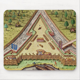 Fort Caroline, from 'Brevis Narratio' Mouse Pads