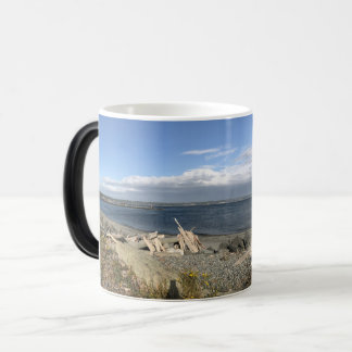 Fort Casey Panoramic Magic Mug
