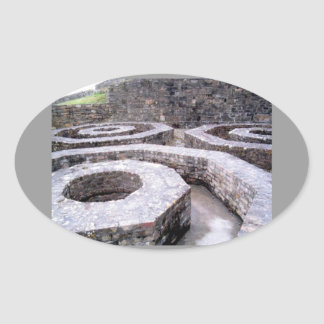 Fort Charles Oval Sticker