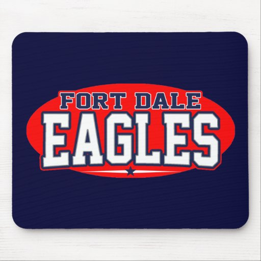 Fort Dale Academy; Eagles Mouse Pads