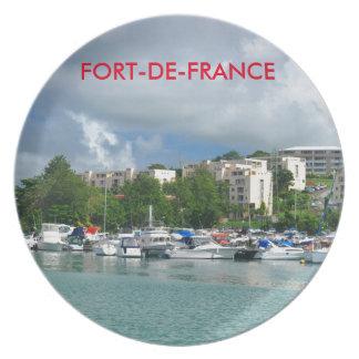 Fort-de-France, Martinique Plate