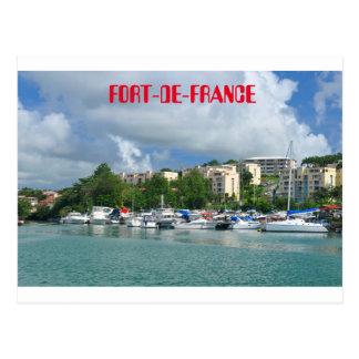 Fort-de-France, Martinique Postcard