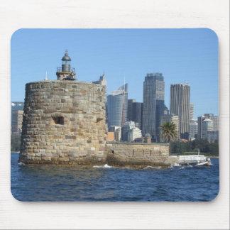 Fort Denison & Sydney Skyline Mousepad