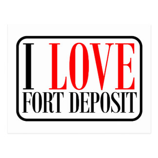 Fort Deposit Alabama Postcard