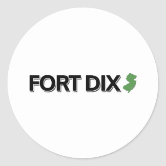 Fort Dix New Jersey Stickers