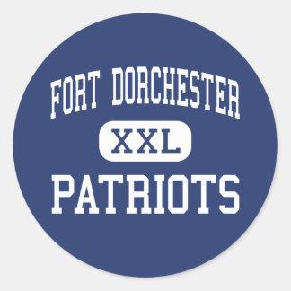Fort Dorchester - Patriots - North Charleston Stickers
