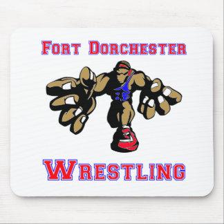 Fort Dorchester Wrestling Mouse Pad