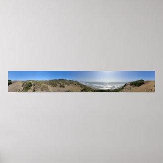 Fort Funston Panorama Poster