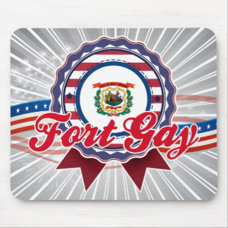 Fort Gay, WV Mouse Pad