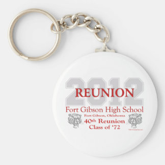 Fort Gibson 40th Reunion Key Ring