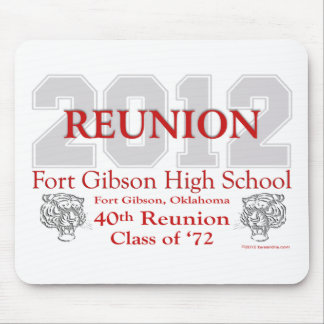 Fort Gibson 40th Reunion Mouse Pad