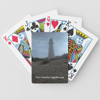 Fort Gratiot Lighthouse Bicycle Playing Cards