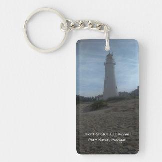 Fort Gratiot Lighthouse Key Ring