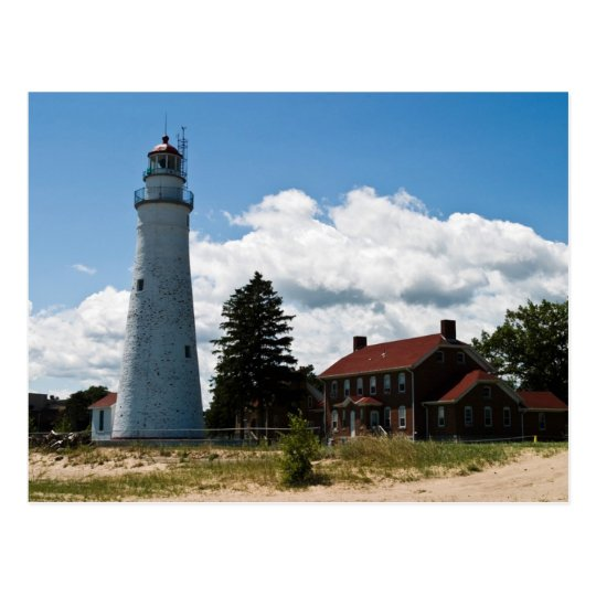 Fort Gratiot Lighthouse Postcard