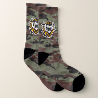 Fort Hays State | Camo Socks